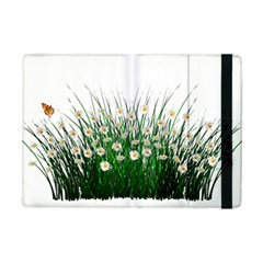 Spring Flowers Grass Meadow Plant Ipad Mini 2 Flip Cases by Celenk