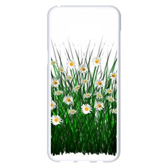 Spring Flowers Grass Meadow Plant Samsung Galaxy S8 Plus White Seamless Case by Celenk