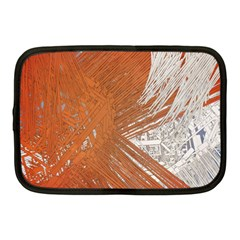 Abstract Lines Background Mess Netbook Case (medium)