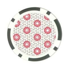 Stamping Pattern Fashion Background Poker Chip Card Guard (10 Pack)