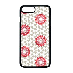 Stamping Pattern Fashion Background Apple Iphone 8 Plus Seamless Case (black)