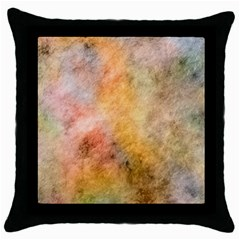 Texture Pattern Background Marbled Throw Pillow Case (black) by Celenk