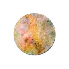 Texture Pattern Background Marbled Magnet 3  (round) by Celenk