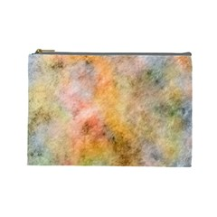 Texture Pattern Background Marbled Cosmetic Bag (large)  by Celenk