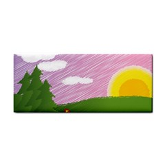Pine Trees Sunrise Sunset Cosmetic Storage Cases by Celenk