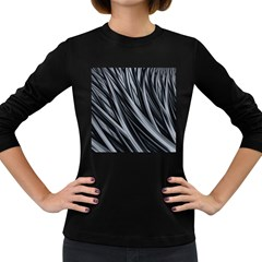 Fractal Mathematics Abstract Women s Long Sleeve Dark T Shirts