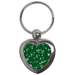 Template Winter Christmas Xmas Key Chains (heart)  by Celenk