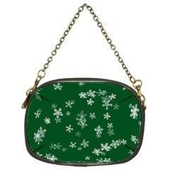 Template Winter Christmas Xmas Chain Purses (two Sides)