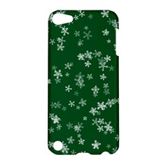 Template Winter Christmas Xmas Apple Ipod Touch 5 Hardshell Case by Celenk