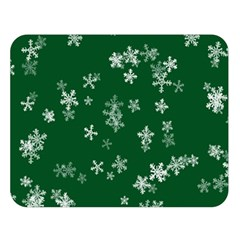 Template Winter Christmas Xmas Double Sided Flano Blanket (large)  by Celenk