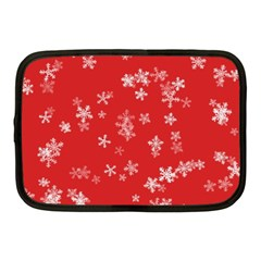 Template Winter Christmas Xmas Netbook Case (medium)  by Celenk