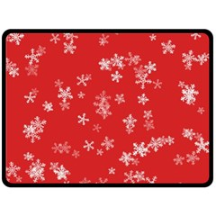 Template Winter Christmas Xmas Fleece Blanket (large)  by Celenk