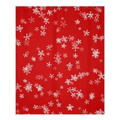 Template Winter Christmas Xmas Shower Curtain 60  X 72  (medium)  by Celenk