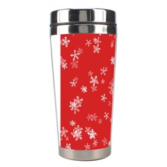 Template Winter Christmas Xmas Stainless Steel Travel Tumblers by Celenk