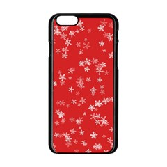 Template Winter Christmas Xmas Apple Iphone 6/6s Black Enamel Case by Celenk