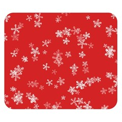 Template Winter Christmas Xmas Double Sided Flano Blanket (small)  by Celenk