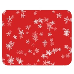 Template Winter Christmas Xmas Double Sided Flano Blanket (medium)  by Celenk