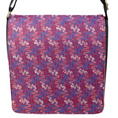 Pattern Abstract Squiggles Gliftex Flap Messenger Bag (s)