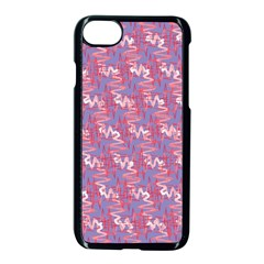 Pattern Abstract Squiggles Gliftex Apple Iphone 7 Seamless Case (black)