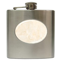 Rock Tile Marble Structure Hip Flask (6 Oz) by Celenk