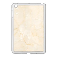 Rock Tile Marble Structure Apple Ipad Mini Case (white) by Celenk