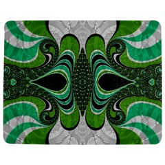 Fractal Art Green Pattern Design Jigsaw Puzzle Photo Stand (rectangular) by Celenk