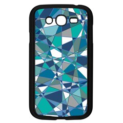 Abstract Background Blue Teal Samsung Galaxy Grand Duos I9082 Case (black) by Celenk