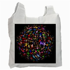 Network Integration Intertwined Recycle Bag (one Side)