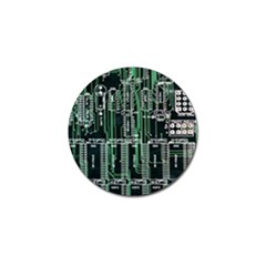 Printed Circuit Board Circuits Golf Ball Marker (10 Pack) by Celenk