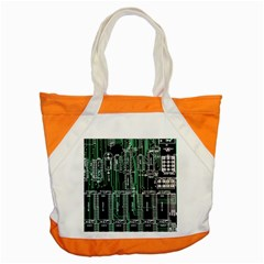 Printed Circuit Board Circuits Accent Tote Bag by Celenk
