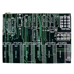 Printed Circuit Board Circuits Cosmetic Bag (xxl)  by Celenk