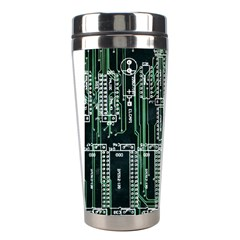 Printed Circuit Board Circuits Stainless Steel Travel Tumblers by Celenk