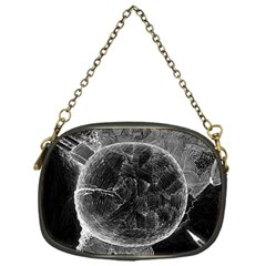 Space Universe Earth Rocket Chain Purses (one Side)  by Celenk