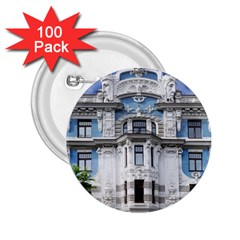 Squad Latvia Architecture 2 25  Buttons (100 Pack)  by Celenk