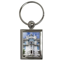 Squad Latvia Architecture Key Chains (rectangle)  by Celenk