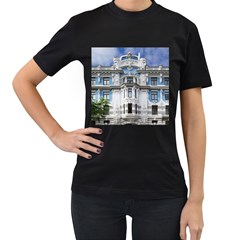 Squad Latvia Architecture Women s T Shirt (black) (two Sided)