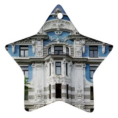 Squad Latvia Architecture Star Ornament (two Sides) by Celenk