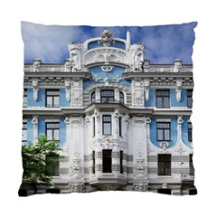 Squad Latvia Architecture Standard Cushion Case (two Sides)