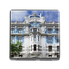 Squad Latvia Architecture Memory Card Reader (square) by Celenk