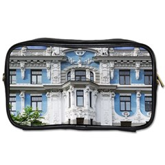 Squad Latvia Architecture Toiletries Bags by Celenk