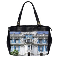 Squad Latvia Architecture Office Handbags (2 Sides)  by Celenk