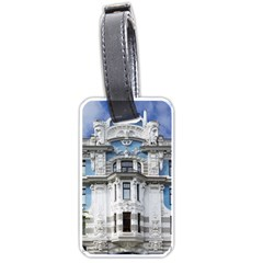 Squad Latvia Architecture Luggage Tags (two Sides) by Celenk