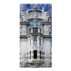 Squad Latvia Architecture Shower Curtain 36  X 72  (stall)  by Celenk