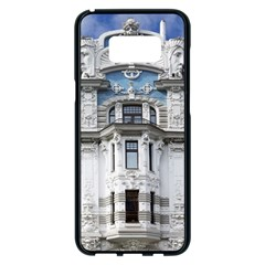 Squad Latvia Architecture Samsung Galaxy S8 Plus Black Seamless Case by Celenk