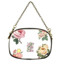 Rose Flowers Campanula Bellflower Chain Purses (one Side)