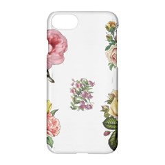 Rose Flowers Campanula Bellflower Apple Iphone 7 Hardshell Case