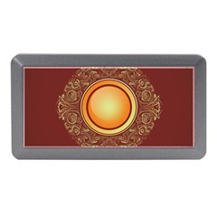 Badge Gilding Sun Red Oriental Memory Card Reader (mini)