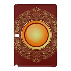 Badge Gilding Sun Red Oriental Samsung Galaxy Tab Pro 12 2 Hardshell Case by Celenk