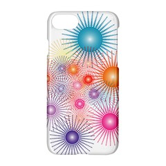Stars Fireworks Colors Apple Iphone 7 Hardshell Case