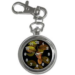 Autumn Leaves Foliage Key Chain Watches by Celenk